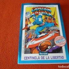 Cómics: CAPITAN AMERICA CENTINELA DE LA LIBERTAD ( GRUENWALD ) FORUM LIBRO GRANDES SAGAS MARVEL 2. Lote 234273035