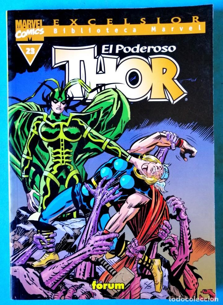 BIBLIOTECA MARVEL EXCELSIOR - THOR Nº 23 - FORUM ''BUEN ESTADO'' (Tebeos y Comics - Forum - Thor)