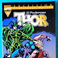 Cómics: BIBLIOTECA MARVEL EXCELSIOR - THOR Nº 23 - FORUM ''BUEN ESTADO''. Lote 234375175