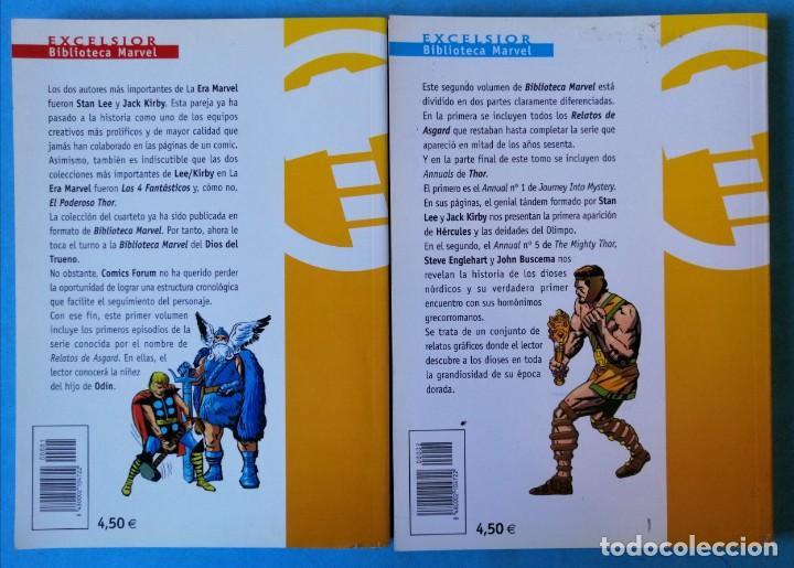 Cómics: BIBLIOTECA MARVEL EXCELSIOR - THOR Nº 1 Y 2 - FORUM BUEN ESTADO - Foto 2 - 234375535