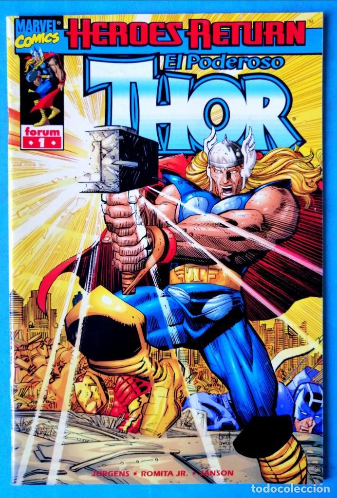 HÉROES RETURN - EL PODEROSO THOR VOL. III - Nº 1 - FORUM 1999 ''MUY BUEN ESTADO'' (Tebeos y Comics - Forum - Thor)