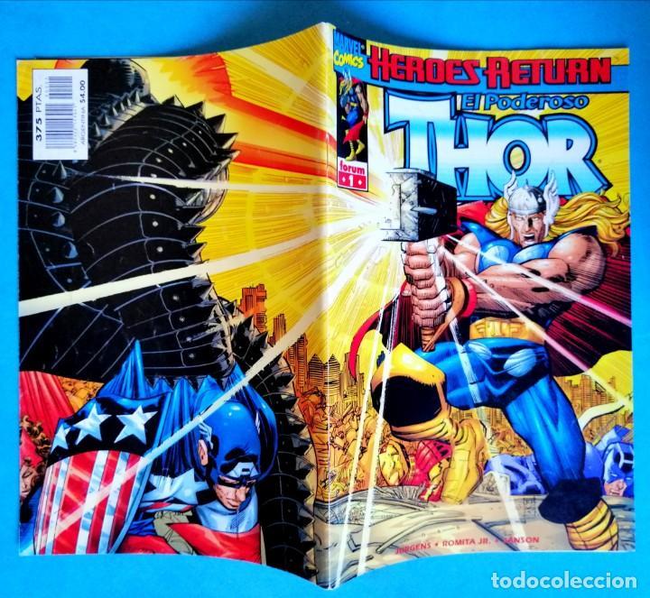 Cómics: HÉROES RETURN - EL PODEROSO THOR VOL. III - Nº 1 - FORUM 1999 MUY BUEN ESTADO - Foto 2 - 234382465