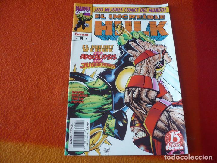 HULK VOL. 3 Nº 5 ( PETER DAVID ) ¡BUEN ESTADO! FORUM MARVEL (Tebeos y Comics - Forum - Hulk)