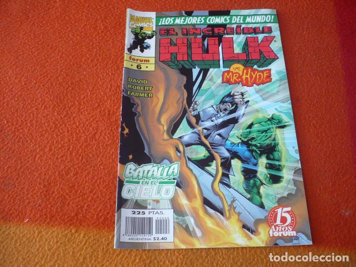 HULK VOL. 3 Nº 6 ( PETER DAVID KUBERT ) ¡BUEN ESTADO! FORUM MARVEL (Tebeos y Comics - Forum - Hulk)