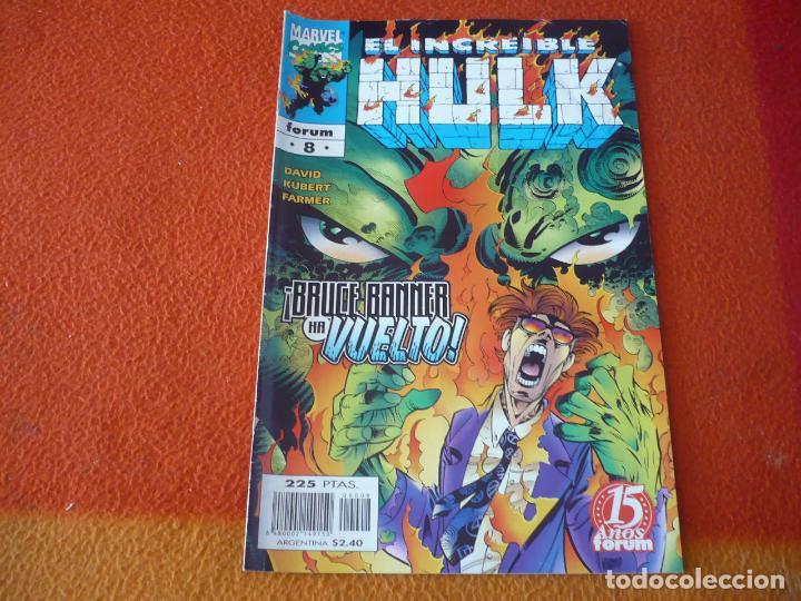 HULK VOL. 3 Nº 8 ( PETER DAVID KUBERT ) ¡BUEN ESTADO! FORUM MARVEL (Tebeos y Comics - Forum - Hulk)