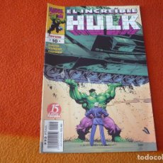 Cómics: HULK VOL. 3 Nº 10 ( PETER DAVID KUBERT ) ¡BUEN ESTADO! FORUM MARVEL. Lote 234441175