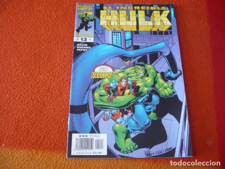 HULK VOL. 3 Nº 13 ( PETER DAVID ) ¡BUEN ESTADO! FORUM MARVEL (Tebeos y Comics - Forum - Hulk)
