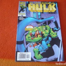 Cómics: HULK VOL. 3 Nº 13 ( PETER DAVID ) ¡BUEN ESTADO! FORUM MARVEL. Lote 234441295