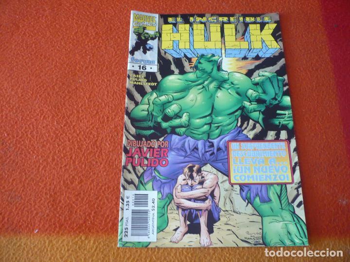 HULK VOL. 3 Nº 16 ( CASEY PULIDO ) ¡BUEN ESTADO! FORUM MARVEL (Tebeos y Comics - Forum - Hulk)