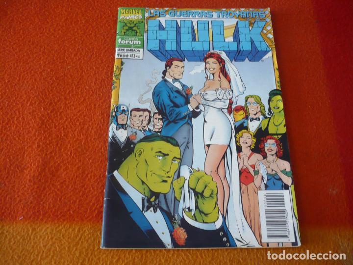 HULK LAS GUERRAS TROYANAS Nº 6 ( PETER DAVID GARY FRANK ) ¡BUEN ESTADO! FORUM MARVEL (Tebeos y Comics - Forum - Hulk)
