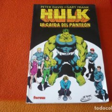 Cómics: HULK LA CAIDA DEL PANTEON ( PETER DAVID GARY FRANK ) ¡BUEN ESTADO! FORUM MARVEL. Lote 234452415