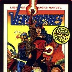 Comics : LIBROS GRANDES SAGAS MARVEL VOL.1 Nº 11 - FORUM. LOS VENGADORES 2: VENGANZA FINAL.. Lote 234501995