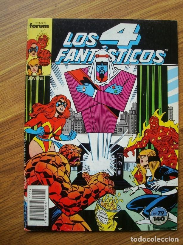 LOS 4 FANTÁSTICOS VOL. 1 Nº 79 (FORUM) MARVEL (Tebeos y Comics - Forum - 4 Fantásticos)