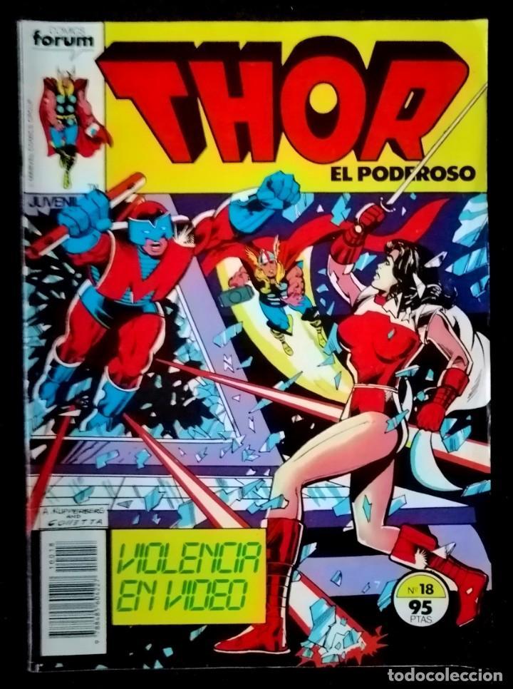 THOR VOL.1 Nº 18 - 1983 - FORUM (Tebeos y Comics - Forum - Thor)