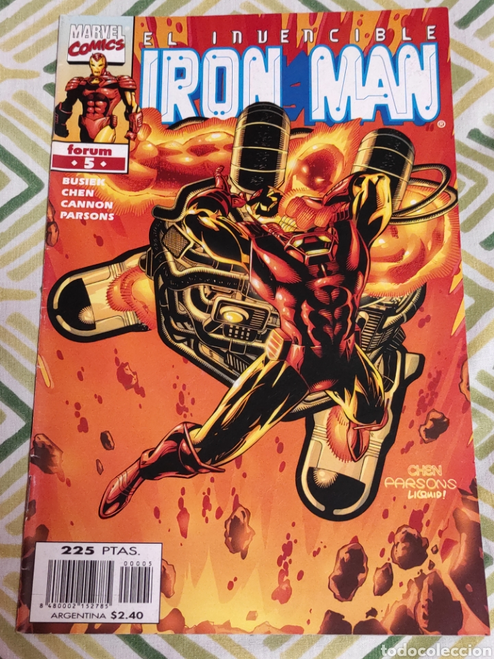 IRON MAN VOL.IV 5 (Tebeos y Comics - Forum - Iron Man)