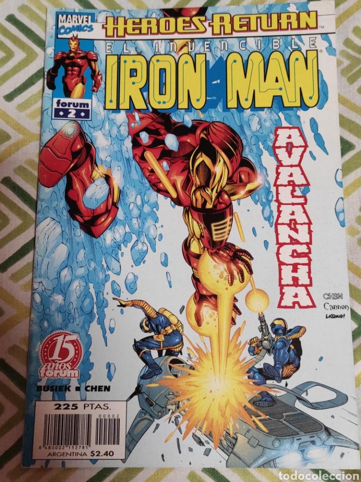 IRON MAN VOL.IV 2 (Tebeos y Comics - Forum - Iron Man)