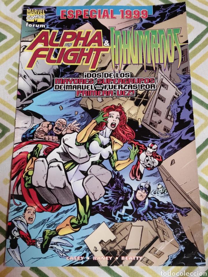 ALPHA FLIGHT & INHUMANOS 1. ESPECIAL 1999 (Tebeos y Comics - Forum - Alpha Flight)