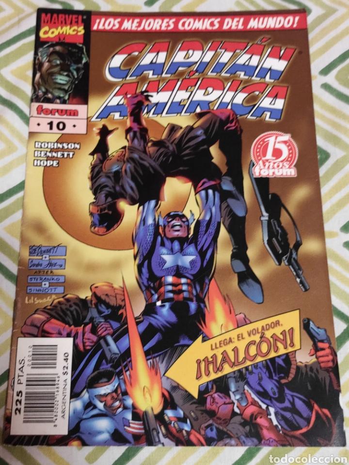 HÉROES REBORN: CAPITÁN AMÉRICA 10 (Tebeos y Comics - Forum - Capitán América)