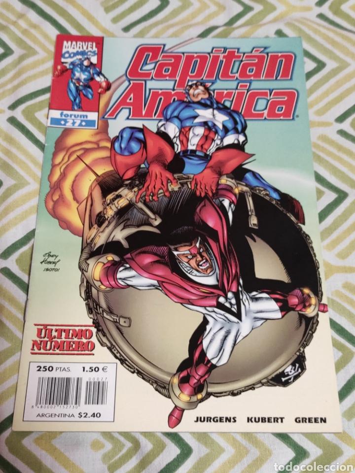 CAPITÁN AMÉRICA VOL.IV 27 (Tebeos y Comics - Forum - Capitán América)