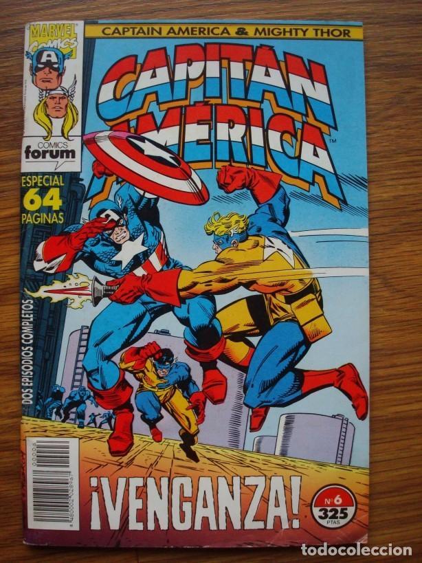 Cómics: Capitán América vol. 2 (con Mighty Thor) nº 1 al 13 (lote 8 nºs) 1, 4, 6, 7, 9, 10, 11, 13 (Forum) - Foto 3 - 234618285