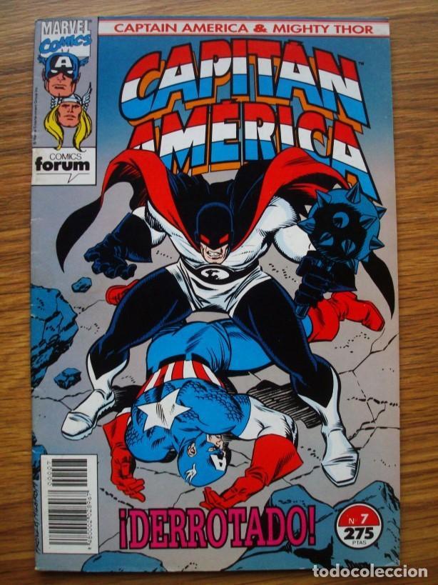 Cómics: Capitán América vol. 2 (con Mighty Thor) nº 1 al 13 (lote 8 nºs) 1, 4, 6, 7, 9, 10, 11, 13 (Forum) - Foto 4 - 234618285