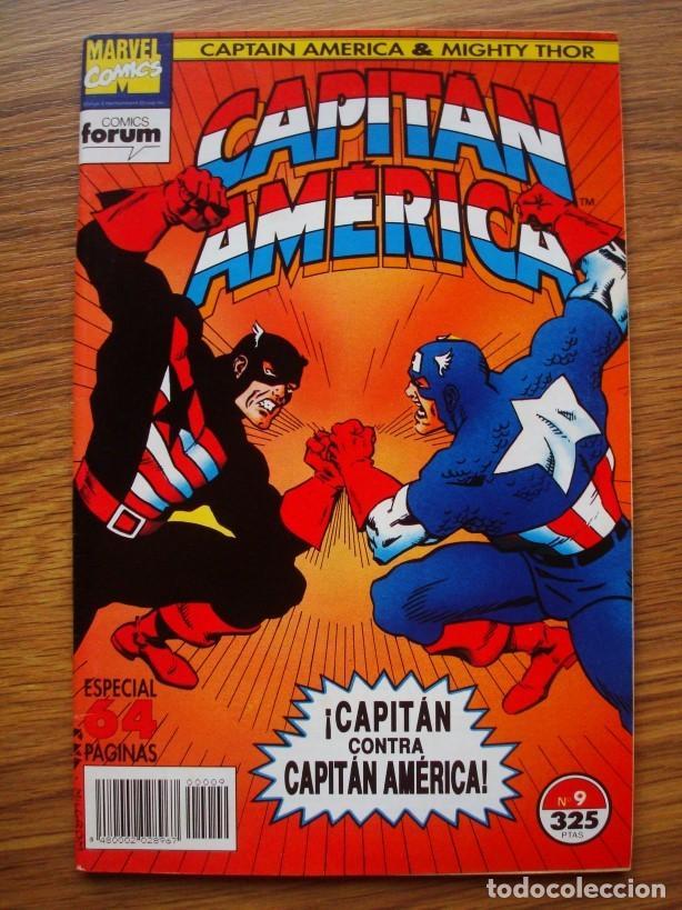 Cómics: Capitán América vol. 2 (con Mighty Thor) nº 1 al 13 (lote 8 nºs) 1, 4, 6, 7, 9, 10, 11, 13 (Forum) - Foto 5 - 234618285