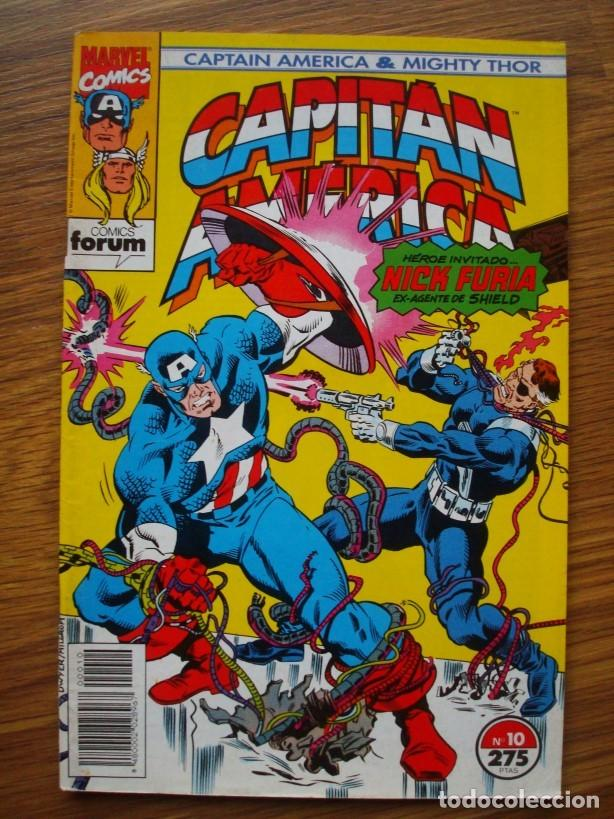 Cómics: Capitán América vol. 2 (con Mighty Thor) nº 1 al 13 (lote 8 nºs) 1, 4, 6, 7, 9, 10, 11, 13 (Forum) - Foto 6 - 234618285