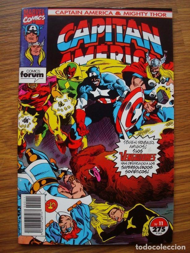 Cómics: Capitán América vol. 2 (con Mighty Thor) nº 1 al 13 (lote 8 nºs) 1, 4, 6, 7, 9, 10, 11, 13 (Forum) - Foto 7 - 234618285