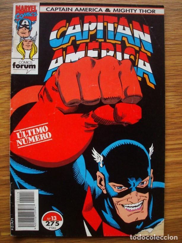 Cómics: Capitán América vol. 2 (con Mighty Thor) nº 1 al 13 (lote 8 nºs) 1, 4, 6, 7, 9, 10, 11, 13 (Forum) - Foto 8 - 234618285