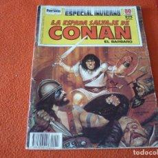 Cómics: LA ESPADA SALVAJE DE CONAN ESPECIAL INVIERNO 1988 ( DIXON CHAN ) ¡BUEN ESTADO! FORUM MARVEL. Lote 234619415