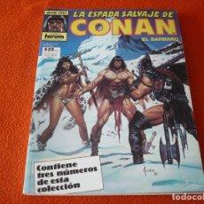 Cómics: LA ESPADA SALVAJE DE CONAN NºS 59, 60 Y 61 RETAPADO 1ª EDICION ¡BUEN ESTADO! FORUM MARVEL. Lote 234619825