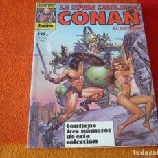Cómics: LA ESPADA SALVAJE DE CONAN NºS 56, 57 Y 58 RETAPADO 1ª EDICION ¡BUEN ESTADO! FORUM MARVEL. Lote 234620005