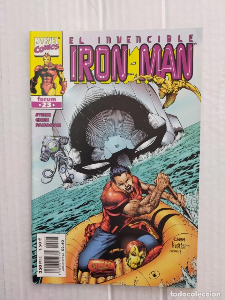 IRON MAN VOL. 4 Nº 23. STERN, CHEN, PANOSIAN (Tebeos y Comics - Forum - Iron Man)