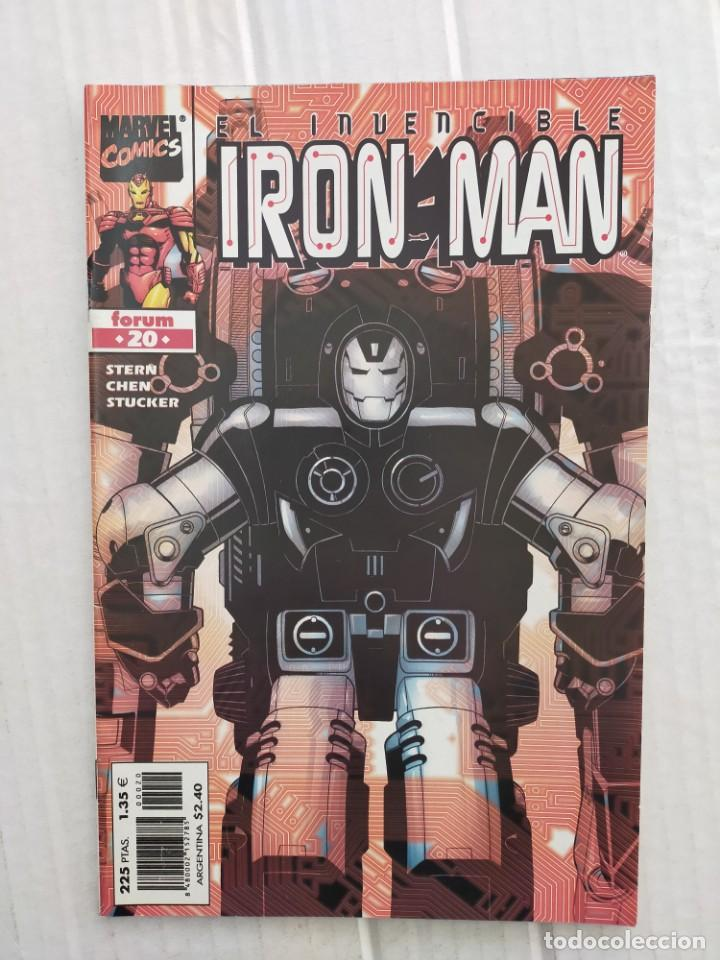IRON MAN VOL. 4 Nº 20. STERN, CHEN, STUCKER (Tebeos y Comics - Forum - Iron Man)