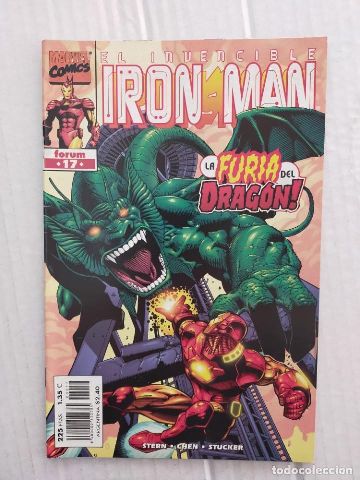 IRON MAN VOL. 4 Nº 17. LA FURIA DEL DRAGÓN (Tebeos y Comics - Forum - Iron Man)