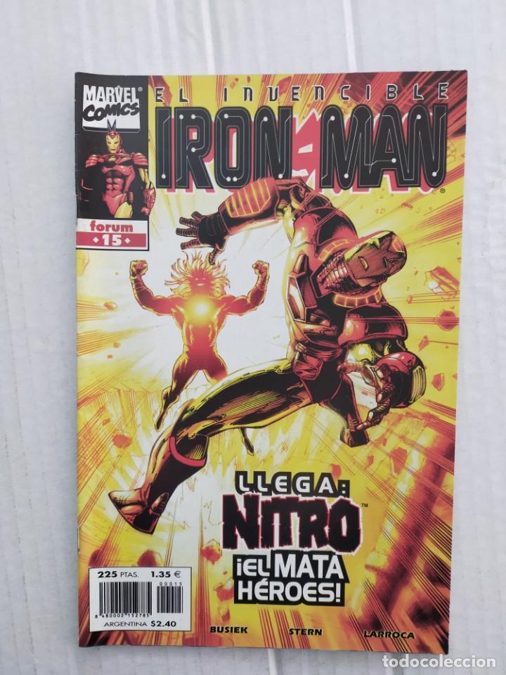 IRON MAN VOL. 4 Nº 15. LLEGA NITRO, EL MATA HÉROES (Tebeos y Comics - Forum - Iron Man)