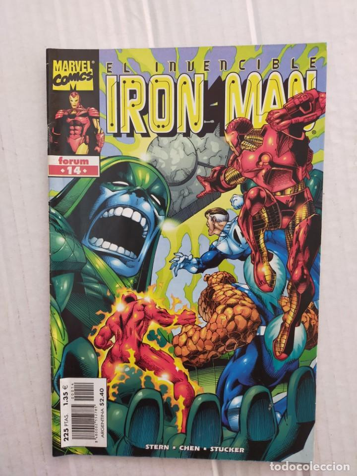 IRON MAN VOL. 4 Nº 14. STERN, CHEN, STUCKER (Tebeos y Comics - Forum - Iron Man)