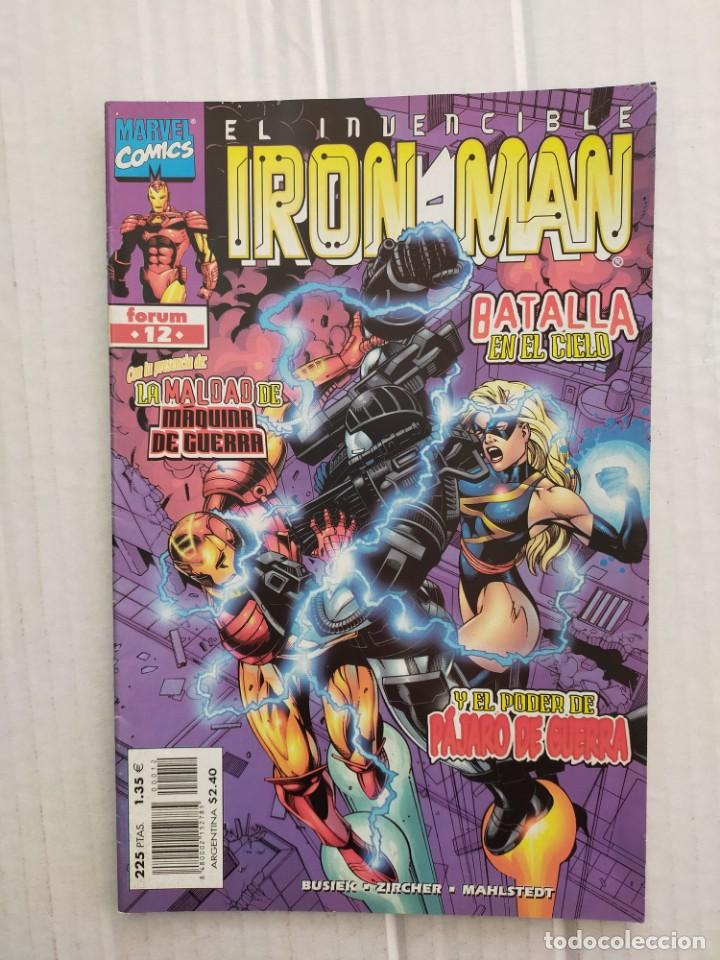 IRON MAN VOL. 4 Nº 12. BUSIEK, ZIRCHER, MAHLSTEDT (Tebeos y Comics - Forum - Iron Man)