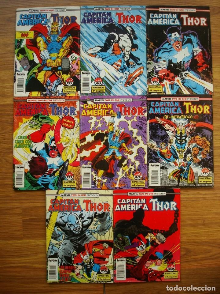 Cómics: Capitán América vol. 1 nº 12 al 76 Lote 46 números (Forum) Marvel - Foto 2 - 234645360