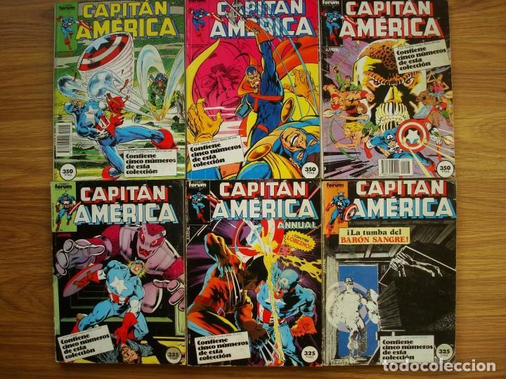 Cómics: Capitán América vol. 1 nº 12 al 76 Lote 46 números (Forum) Marvel - Foto 3 - 234645360