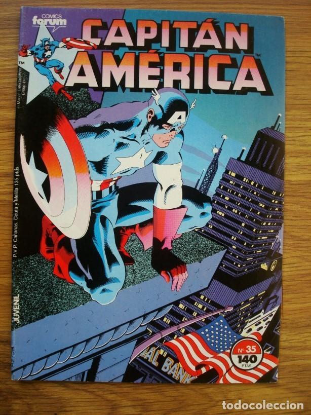 Cómics: Capitán América vol. 1 nº 12 al 76 Lote 46 números (Forum) Marvel - Foto 4 - 234645360