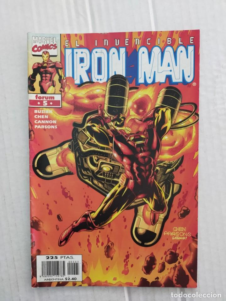 IRON MAN VOL. 4 Nº 5. BUSIEK, CHEN, CANNON, PARSONS (Tebeos y Comics - Forum - Iron Man)