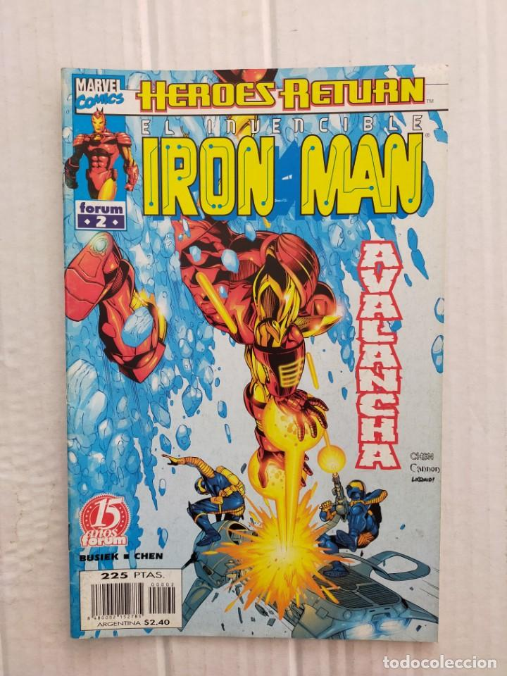 IRON MAN VOL. 4 Nº 2. BUSIEK, CHEN (Tebeos y Comics - Forum - Iron Man)