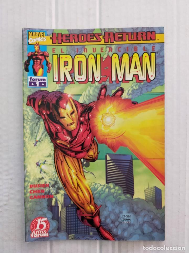 IRON MAN VOL. 4 Nº 1. BUSIEK, CHEN, CANNON (Tebeos y Comics - Forum - Iron Man)