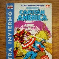 Comics: CAPITÁN AMÉRICA VOL. 1 EXTRA INVIERNO 1991 EL FACTOR TÉRMINUS 1ª PARTE (FORUM) MARVEL. Lote 234647160