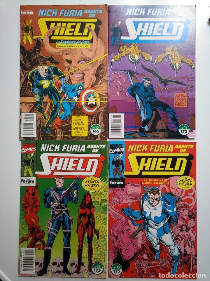 NICK FURIA, AGENTE DE SHIELD N°. 10 11 12 13 AL (Tebeos y Comics - Forum - Furia)