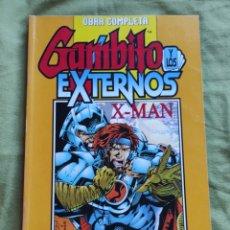 Cómics: GAMBITO Y LOS EXTERNOS. X-MAN. OBRA COMPLETA. Lote 234679350