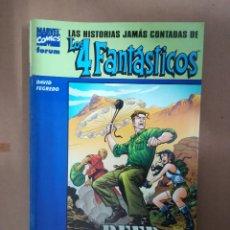 Cómics: HISTORIAS JAMÁS CONTADAS DE LOS 4 FANTÁSTICOS. REED RICHARDS. FORUM. Lote 234781300