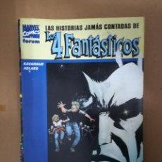 Cómics: HISTORIAS JAMÁS CONTADAS DE LOS 4 FANTÁSTICOS. LOS STORMS. FORUM. Lote 234781400