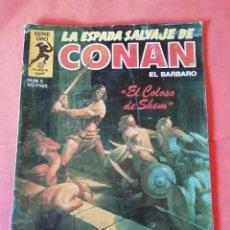 Cómics: LA ESPADA SALVAJE DE CONAN. 1ª EDICION. Nº 5 .EL COLOSO DE SHEM.. Lote 234824905